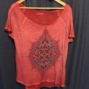 Lucky brand top ladies large